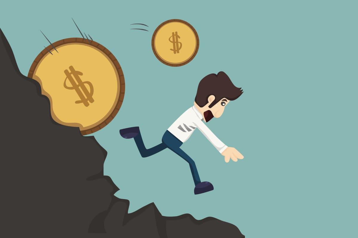 ビットコイン高騰中に手を出すのは完全に悪手